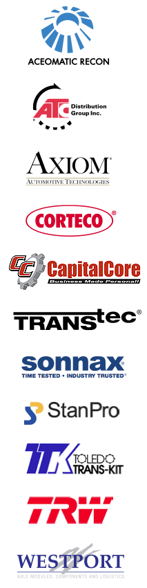 Automotive aftermarket company logos